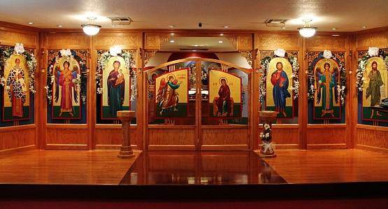 Iconostasis of St. Athanasius